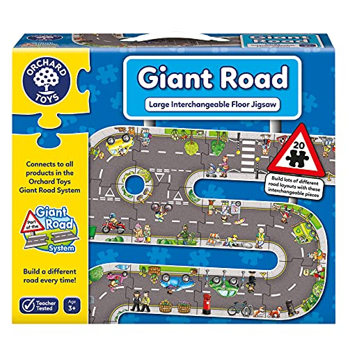 Orchard Toys Giant Road Floor Puzzle from Orchard Toys