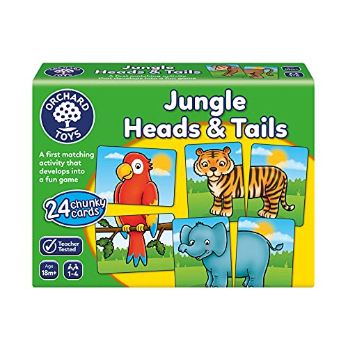 Orchard Toys Jungle Heads and Tails Game from Orchard Toys