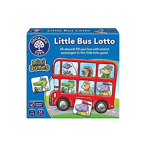 Orchard Toys Little Bus Lotto Mini Game from Orchard Toys