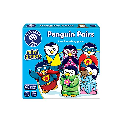 Orchard Toys Penguin Pairs Mini Game from Orchard Toys