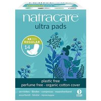 Natracare Organic Cotton Cover Ultra Pads Regular 14 from Natracare