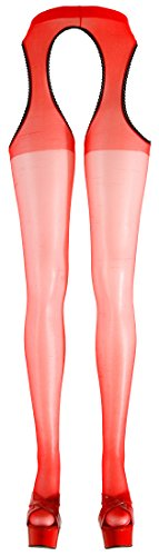 Orion Large/X-Large Red Sex Tights from Orion