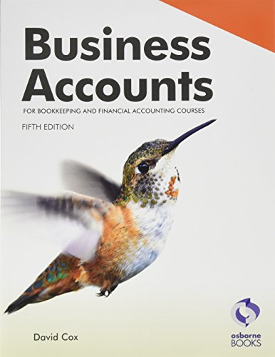 Business Accounts (5th Edition) from Osborne Books Ltd