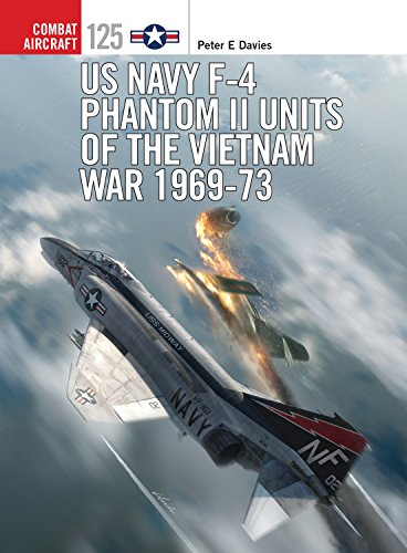 US Navy F-4 Phantom II Units of the Vietnam War 1969-73 (Combat Aircraft) from Osprey Publishing