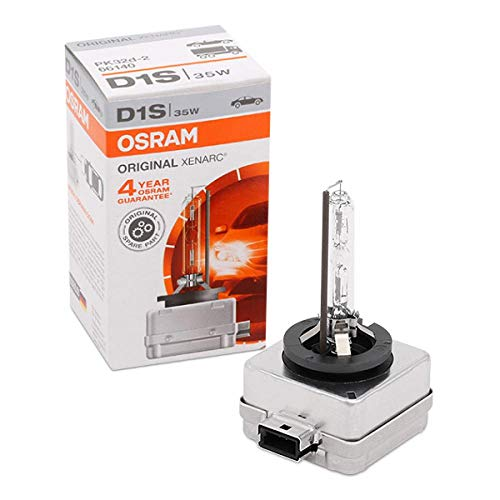 OSRAM XENARC ORIGINAL D1S HID Xenon discharge bulb, discharge lamp, OEM quality OEM, 66140, folding carton box (1 unit) from Osram