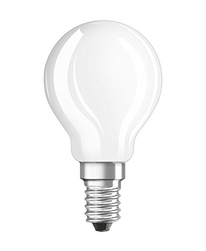 OSRAM LED Superstar Classic P / LED-lamp in drop shape with E14-base / dimmable / replacement for 25 Watt / Matt / warm white - 2700 Kelvin / 1 pack from Osram