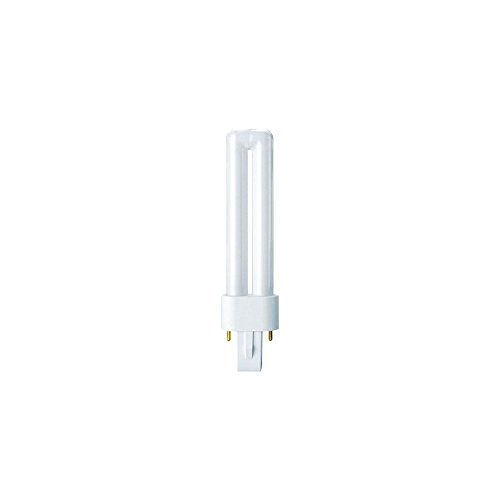 OSRAM energy-saving lamp / DULUX S / G23-Socket / 9 watt / Warm-white / 2700K from Osram