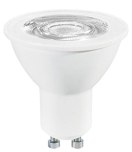 Osram LED Value PAR16/LED Reflector Lamp, PAR16, for Line Voltage Operation, with Pin Base: GU10, 5 W, 220 to 240 V, 50 W Replacement, Beam Angle: 36 Degrees, Warm White, 2700 K, Pack of 1 from Osram