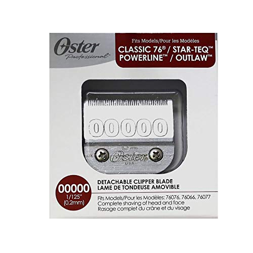 Oster 0.2 mm 00000 Size 76918-006 Blade from OSTER