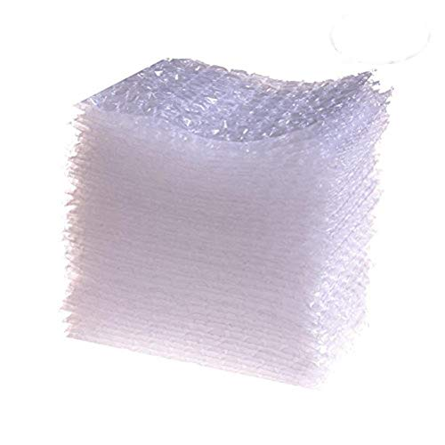 Osun 100 Pcs Transparent Bubble Wrap Bags Double Walled Cushion Pouch Bags 4x6inch Protective Bags for Shipping, Storage and Moving from Osun