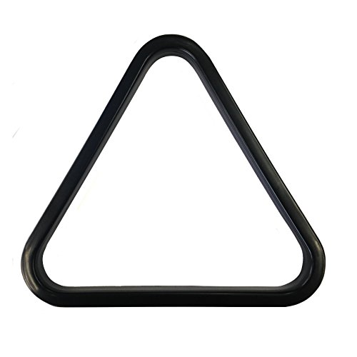 "2 1/4"""" INCH (57mm) 15 Ball BLACK Plastic AMERICAN POOL Triangle - 8 Ball Pool from Other"