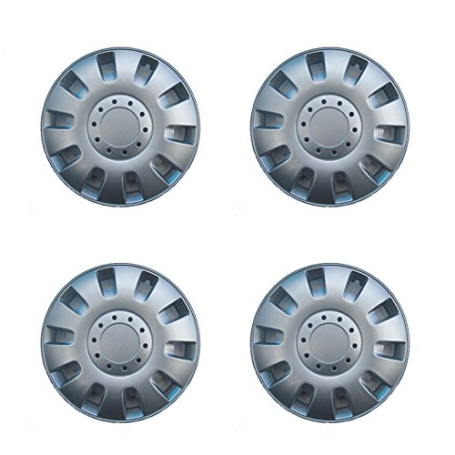Other 4X 14 inch universal silver ABS plastic wheel trims covers hub caps alloy look from Other