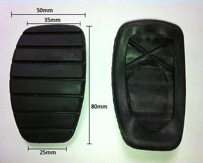 BRAKE AND CLUTCH REPLACMENT PEDAL COVERS PAD RUBBERS for RENAULT CARS from Other