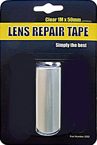 Best Repair Cracked Broken Damaged Reversing Clear Light Headlight Lens Tape from Other