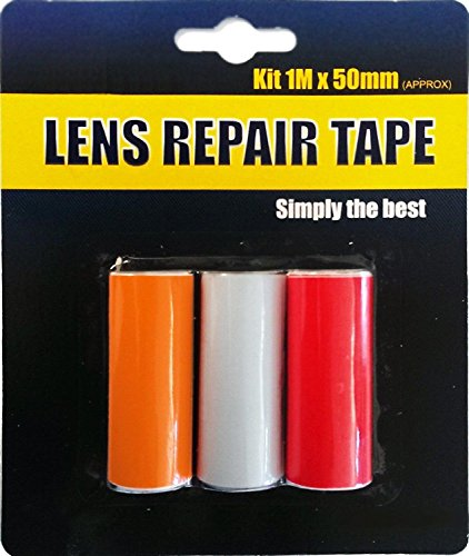 Front Or Rear Car Van Lens Light Indicator Repair Tape Easy Fit Stick On from Other