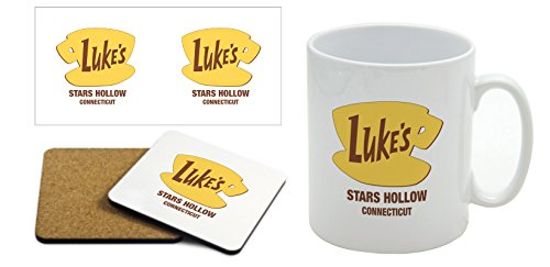 Lukes Diner - Gilmore Girls - Mug & Coaster Gift Set from Other