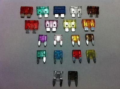 Spare emergency travel fuse box fuses Blade an Mini Spade VAN MPV CARAVAN from Other