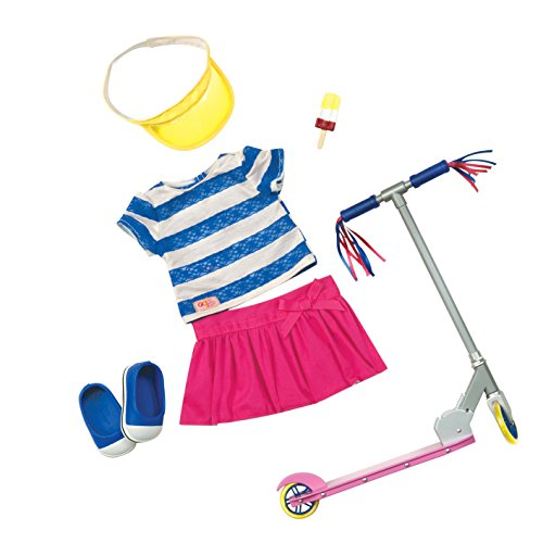 Our Generation 18-inch Cute to Scoot Deluxe Doll Outfit from Our Generation