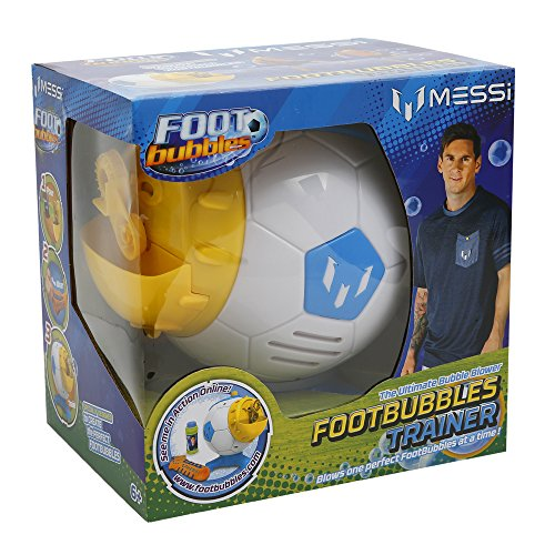 Outdoor Messi Footbubbles Bubble Trainer Plus Sock and 2 oz Solution from Messi