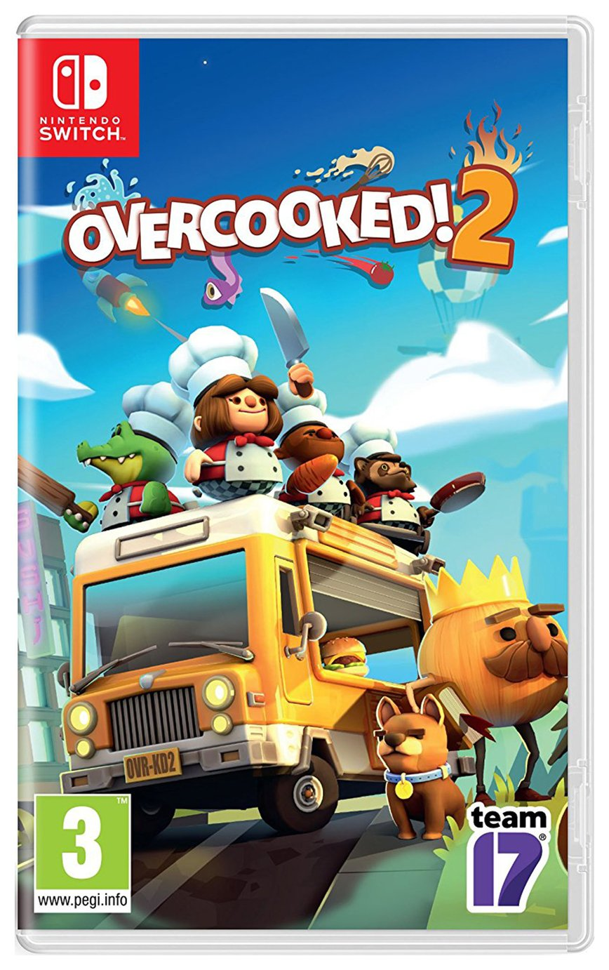 Overcooked 2 Nintendo Switch Game from Overcooked