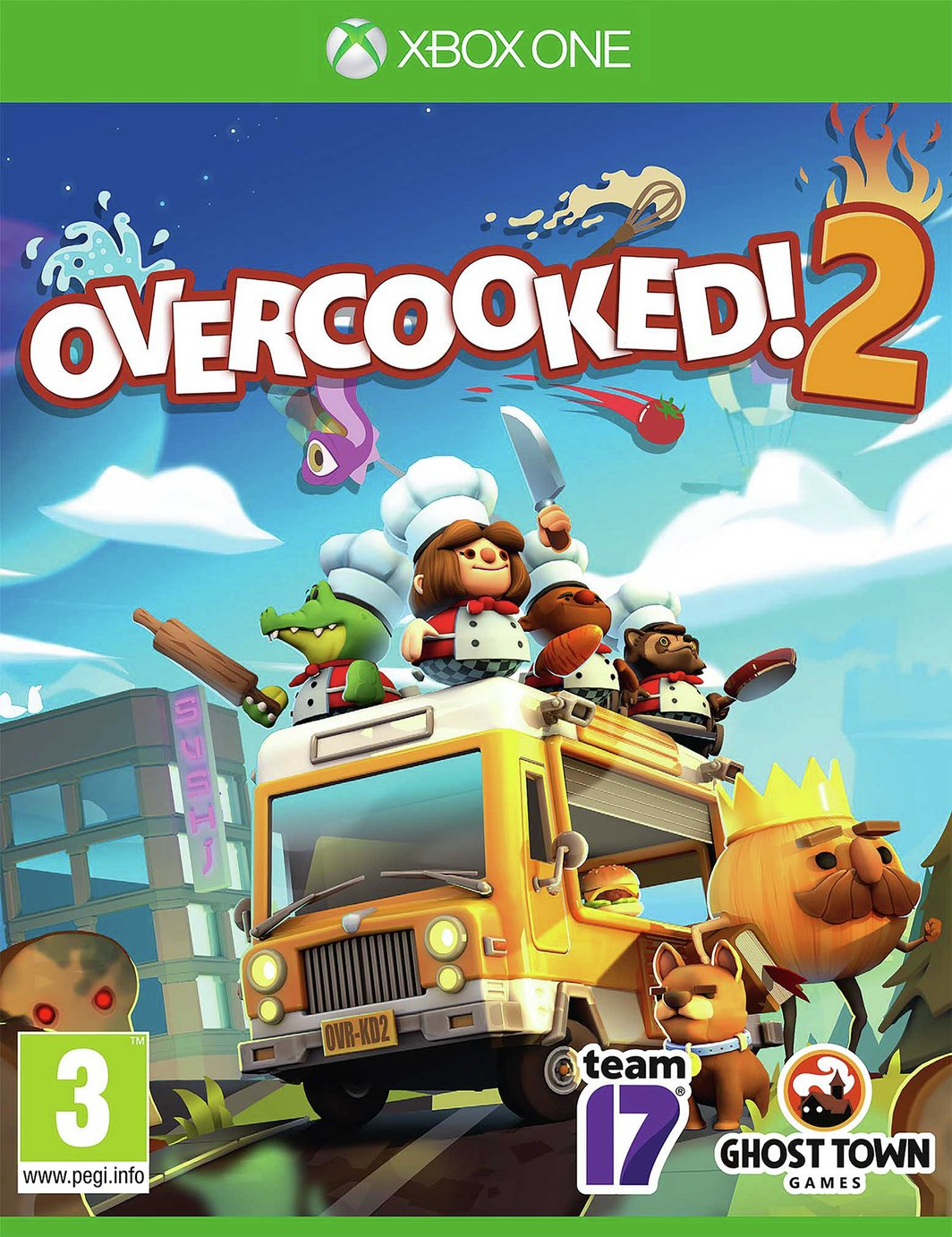 Overcooked 2 Xbox One Game from Overcooked