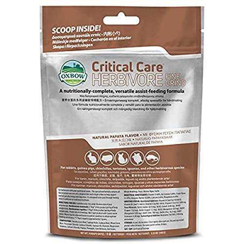 Oxbow Critical Care Fine Grind 100g from Oxbow