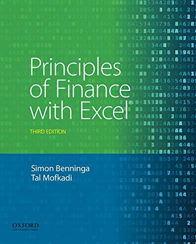 Principles of Finance with Excel from Oxford University Press, USA