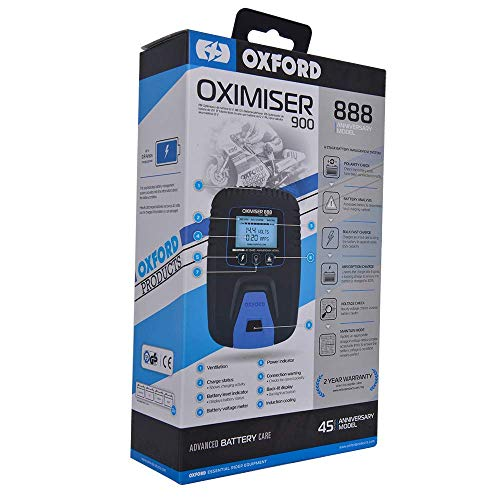 OXFORD OXIMISER 900 BATTERY CHARGER ANNIVERSARY EDITION from Oxford