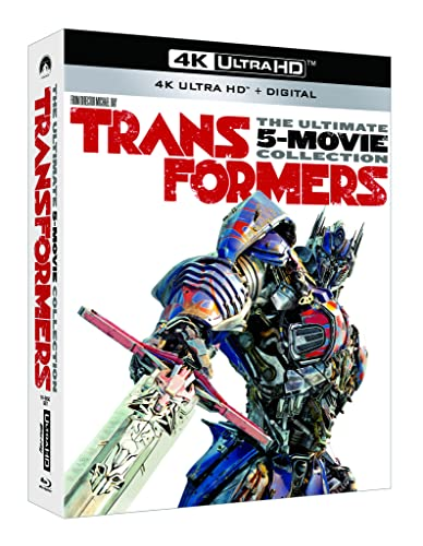 Transformers The Ultimate 5-Movie Collection [Blu-ray] from PARAMOUNT