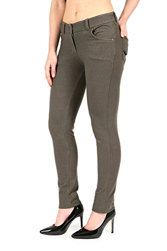 Parsa Fashions ® Ladies Skinny Fit Coloured Jeggings Womens Strechy Pants (UK 8-26) from Parsa Fashions