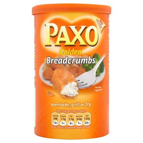 Paxo Golden Breadcrumbs 6 x 227g from PAXO