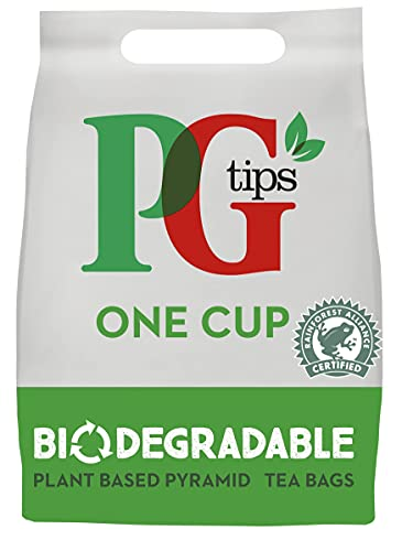 PG Tips One Cup Pyramid Tea Bags (Total 1100 Tea Bags) from PG Tips