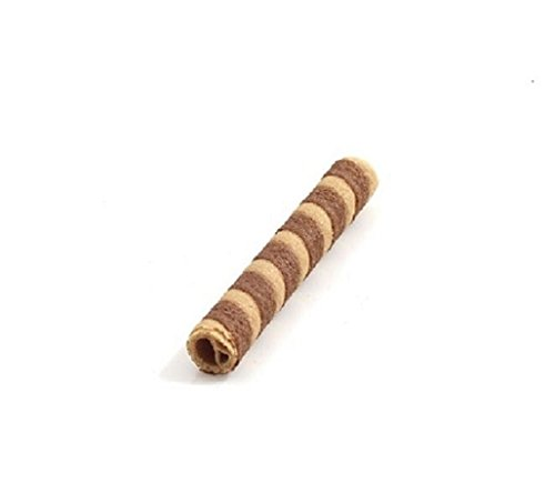 Decor Cocoa Wafer Biscuit bar 100mm (200 Pieces) from PJaspert Eiswaffeln