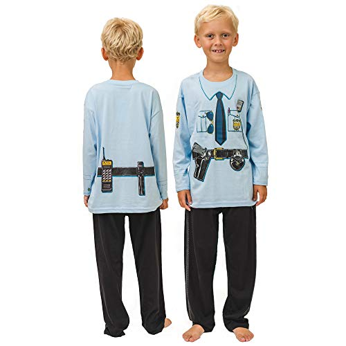 PLAY'N'WEAR New York Policeman Pyjamas & Fun Homewear (3-4 Years) Blue from PLAY'N'WEAR
