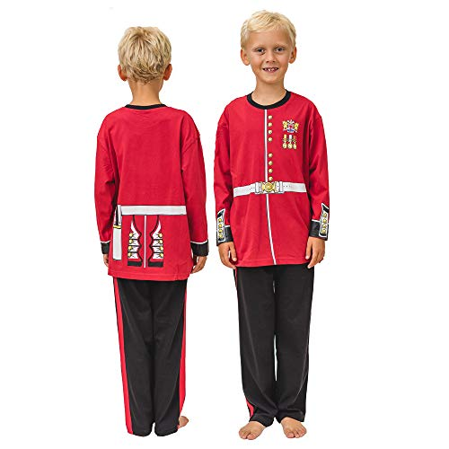 Playsuit Pyjamas - Guardsman 7-8yrs from PLAY'N'WEAR