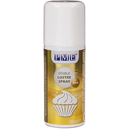 PME Edible Lustre Spray Gold 100 ml from PME