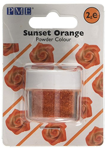 PME Edible Powder Colour Sunset Orange from PME