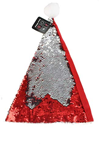 5bfe48f258c PMS International Christmas Reverse Sequin Santa Hat - Red Silver  Changeable Sequins from PMS International. found at Amazon Marketplace