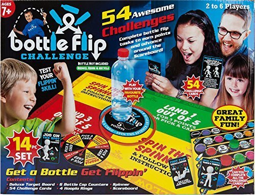18PC Bottle Flip Challenge Set Game from PMS
