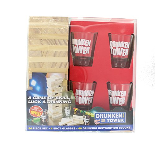 PMS DRUNKEN TOWER DRINKING GAME IN PVC BOX from PMS