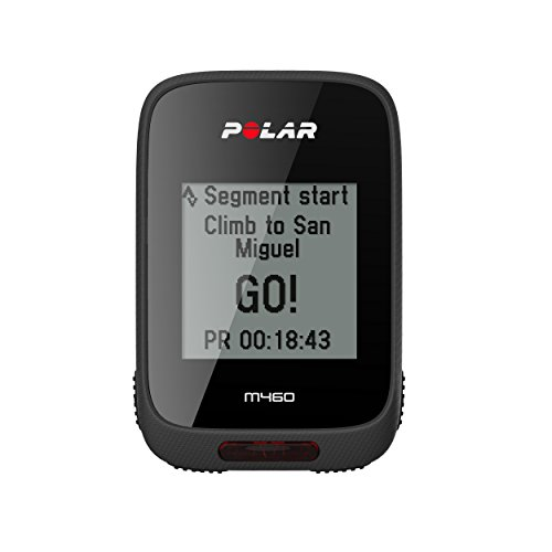 Polar Unisex Adults' M460 Integrated GPS Altitude Tracker without Heart Rate Monitor, Black, One Size from Polar