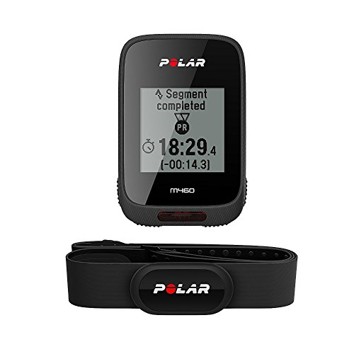 Polar Unisex M460 Integrated Gps Heart Rate and Altitude Tracker, Black, One Size from POLAR