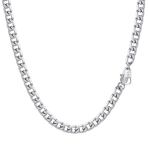 PROSTEEL Men Gift 316L Stainless Steel Chain Male Necklace from PROSTEEL