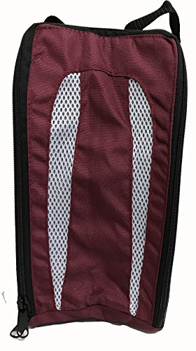 Football Boot Bag / Shoe Bag New Prostyle Sports Football/Rugby/Hockey/Gym (Maroon) from PROSTYLE SPORTS
