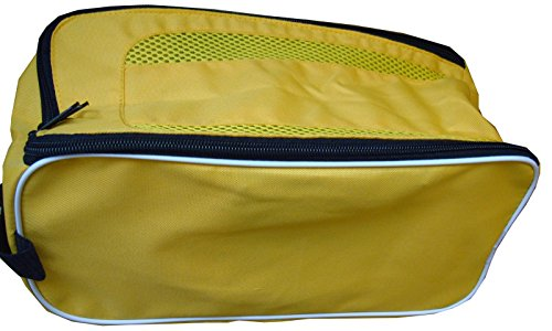 Football Boot Bag / Shoe Bag New Prostyle Sports Football/Rugby/Hockey/Gym (Yellow) from PROSTYLE SPORTS