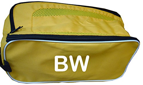 PERSONALISED Football Boot Bag / Shoe Bag New Prostyle Sports Football/Rugby/Hockey/Gym (Yellow) from PROSTYLE SPORTS