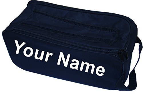PERSONALISED Football Boot Bag / Shoe Bag New Prostyle Sports Football/Rugby/Hockey/Gym - Black from PROSTYLE SPORTS