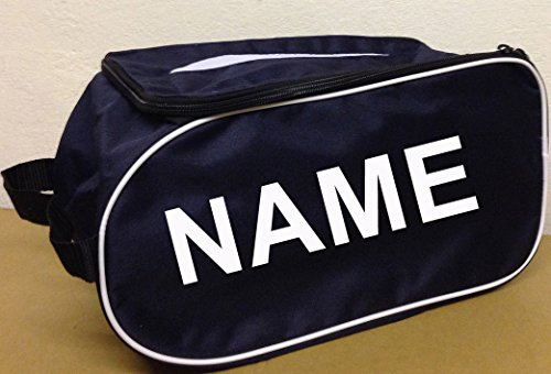 PROSTYLE SPORTS PERSONALISED Football Boot Bag/Shoe Bag Football/Rugby/Hockey/Gym - Navy from PROSTYLE SPORTS
