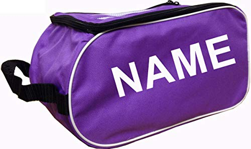 PERSONALISED Football Boot Bag / Shoe Bag New Prostyle Sports Football/Rugby/Hockey/Gym - Purple from PROSTYLE SPORTS