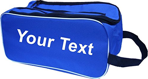 PERSONALISED Football Boot Bag / Shoe Bag New Prostyle Sports Football/Rugby/Hockey/Gym - Royal from PROSTYLE SPORTS